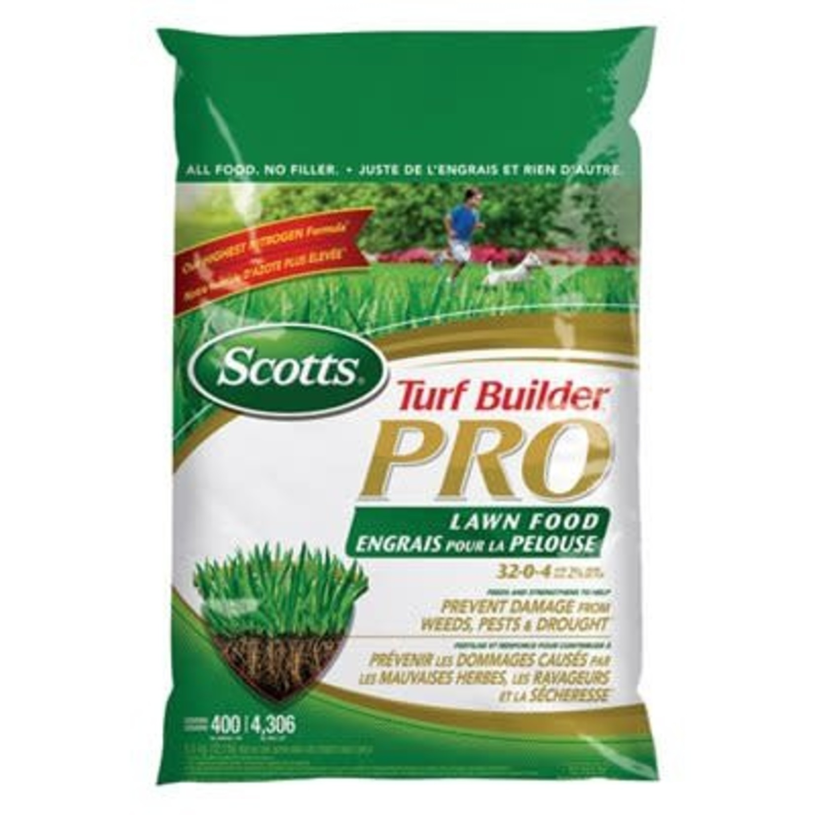 Scotts Turf Builder Pro 32-0-4, 5.2kg