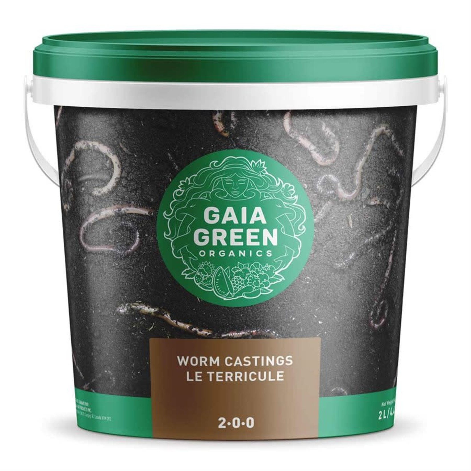 Gaia Green Worm Castings 2-0-0, 2 L