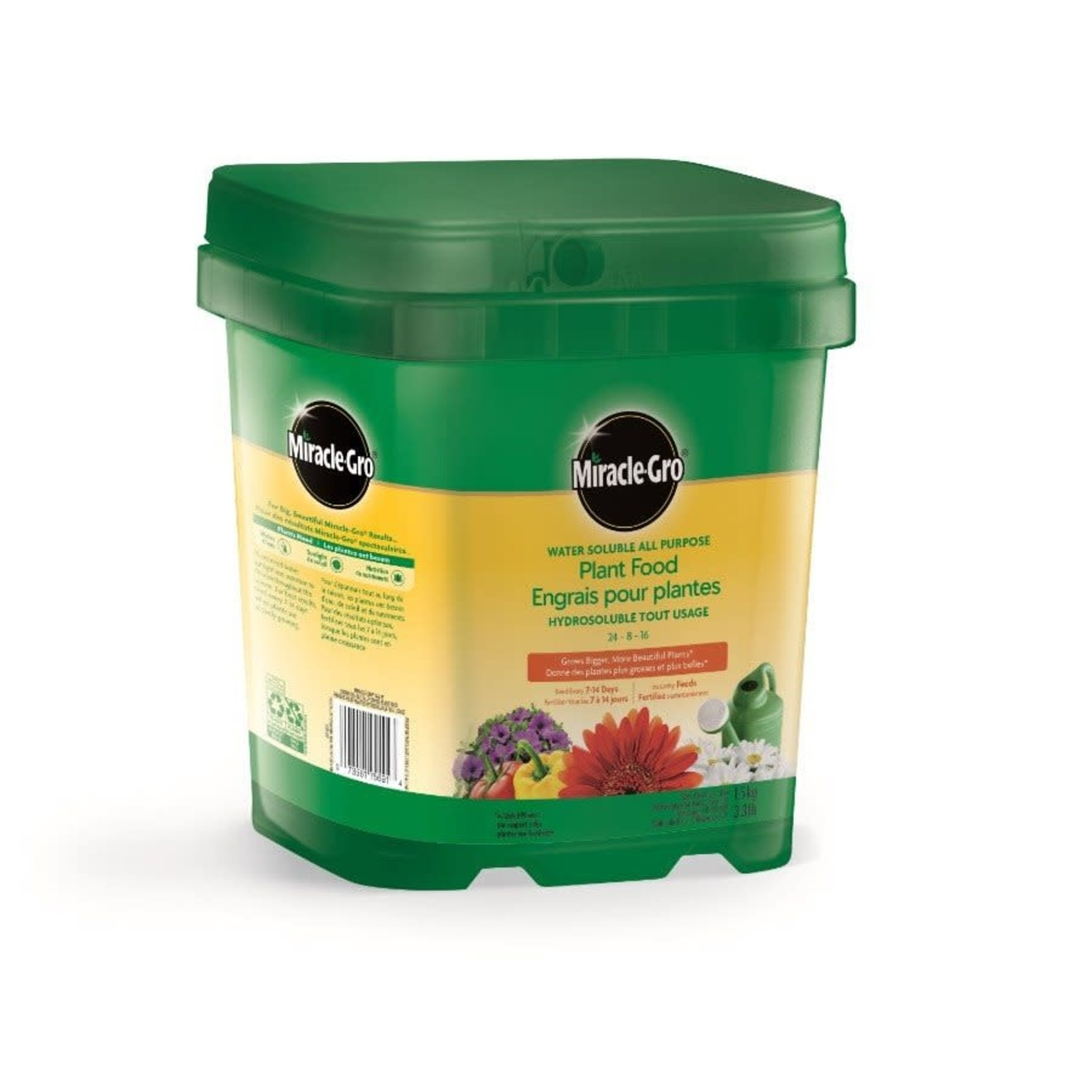 Miracle-Gro Water Sol All Purpose 24-8-16, 1.5kg