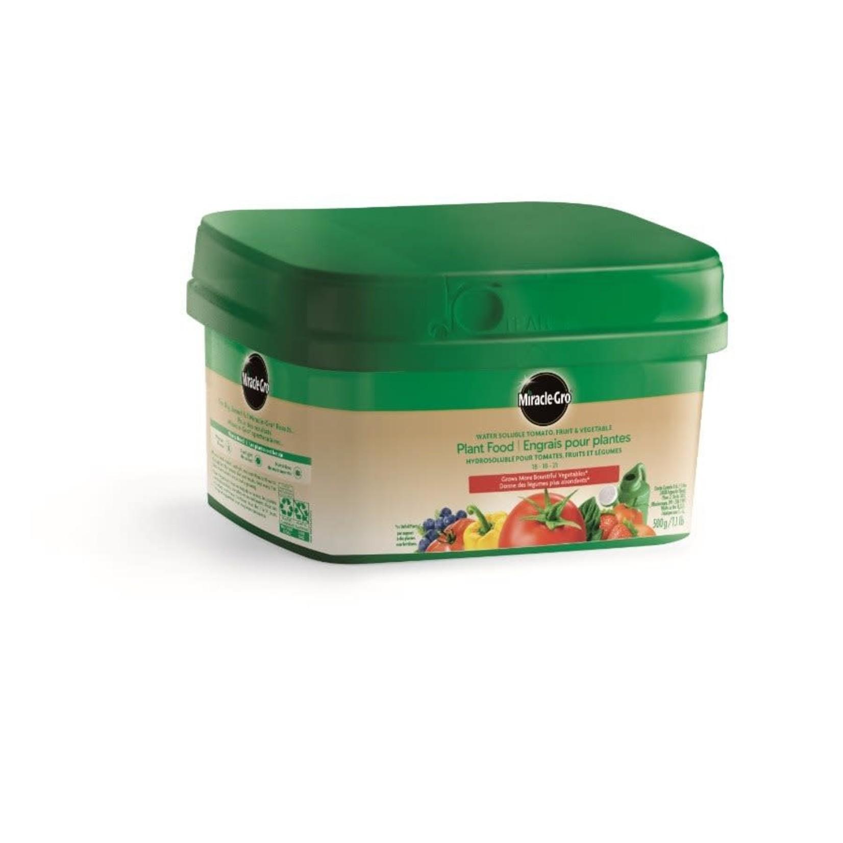 Miracle-Gro Soluble Tomato Fruit Veg 18-18-21, 500g