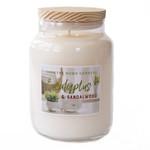 Candle  - Eucalyptus & Sandalwood LRG