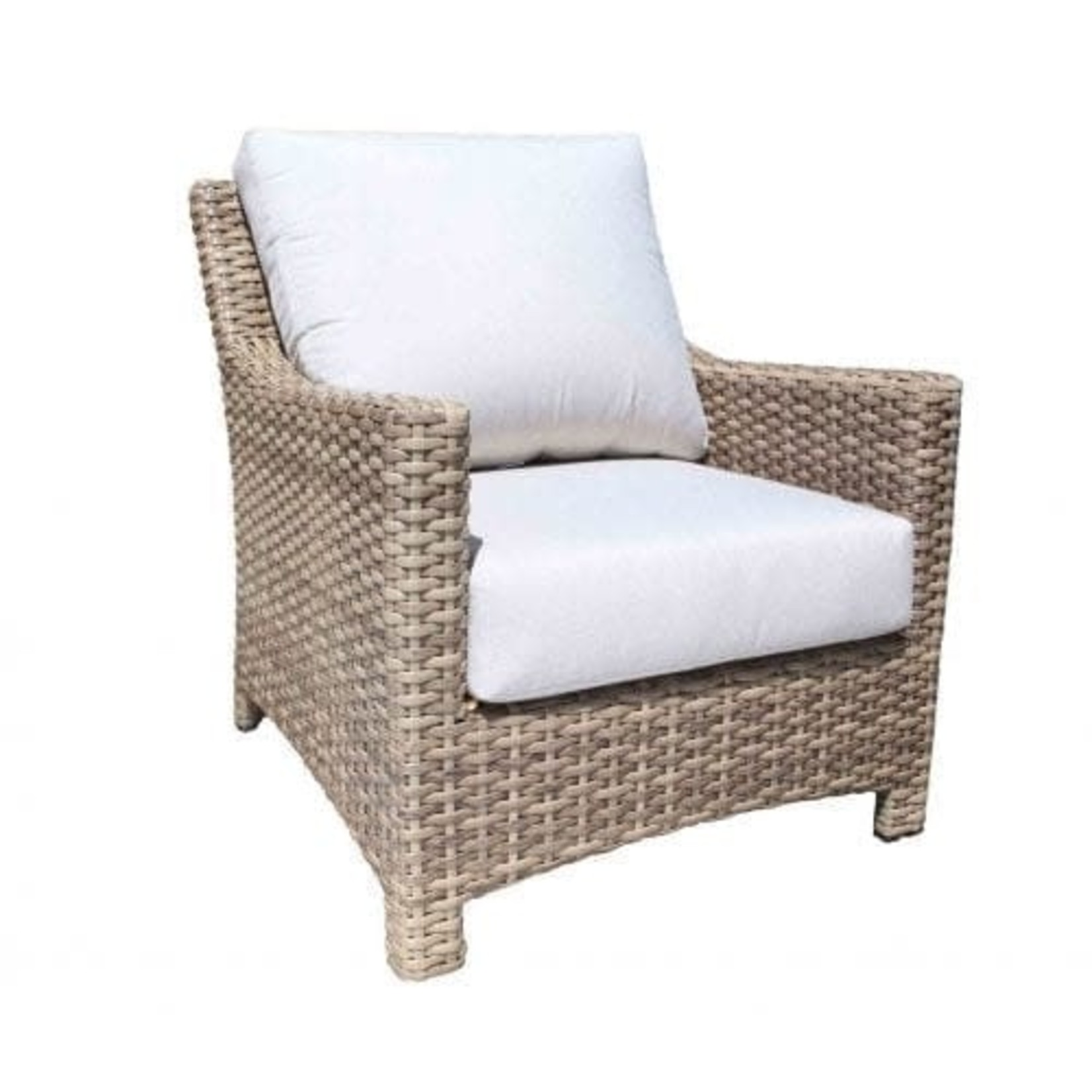 Cabana Coast Riverside Deep Seating Chair - Drift Teak