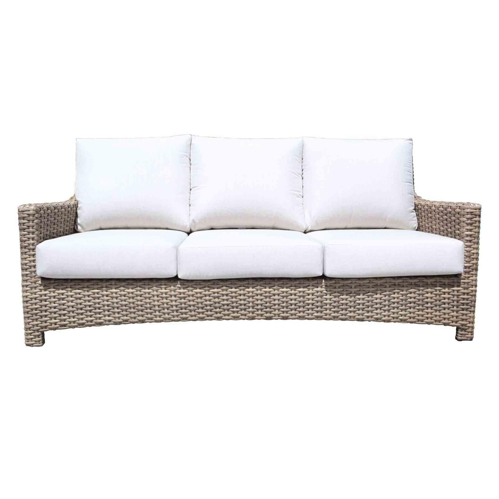 Cabana Coast Riverside Sofa - Drift Teak