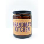 Candle - Grandma's Kitchen Amber Jar