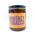 Candle - Tobacco & Whiskey Amber 8oz