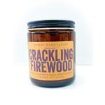 Candle - Crack Firewood Amber 8oz