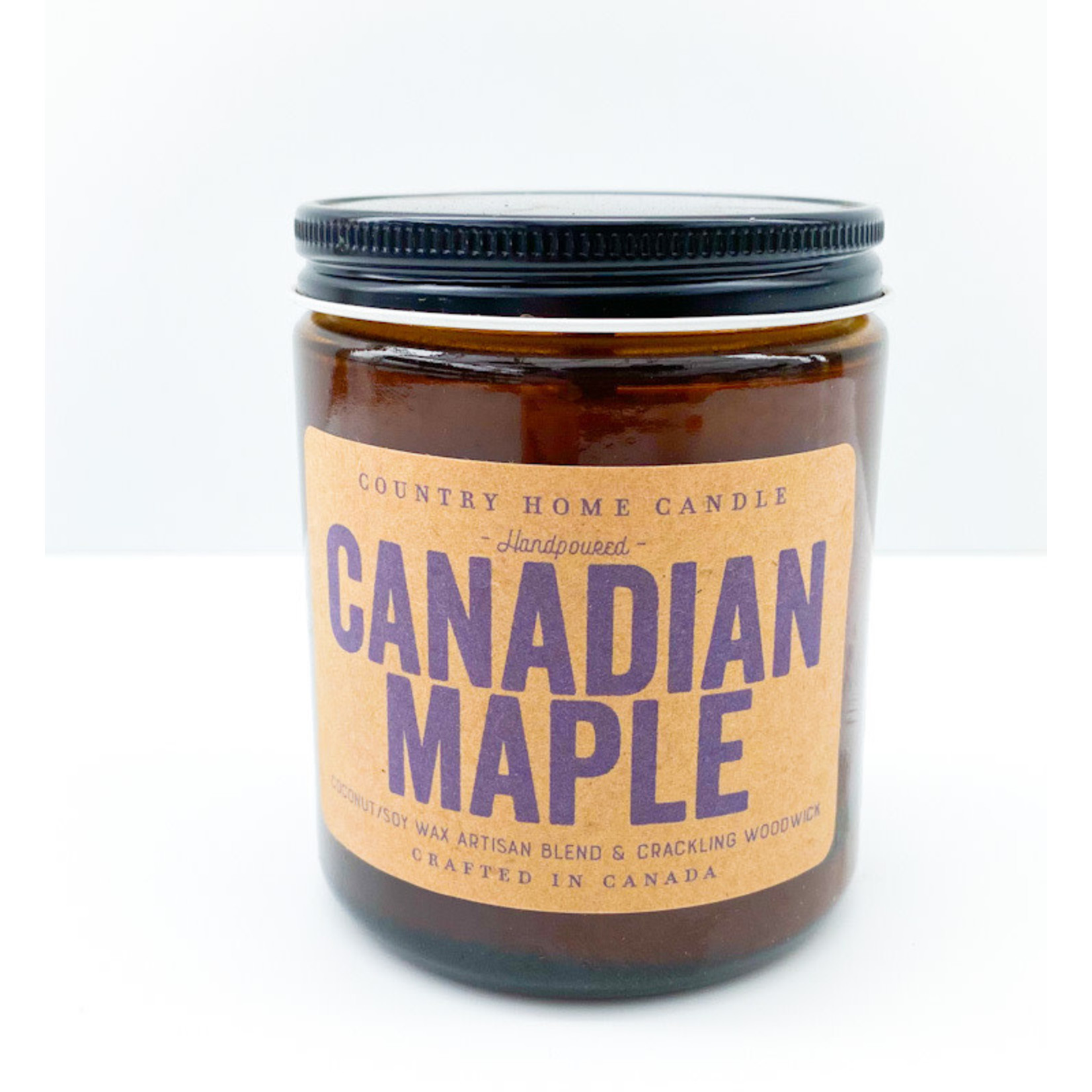 Candle - Canadian Maple Amber 8oz