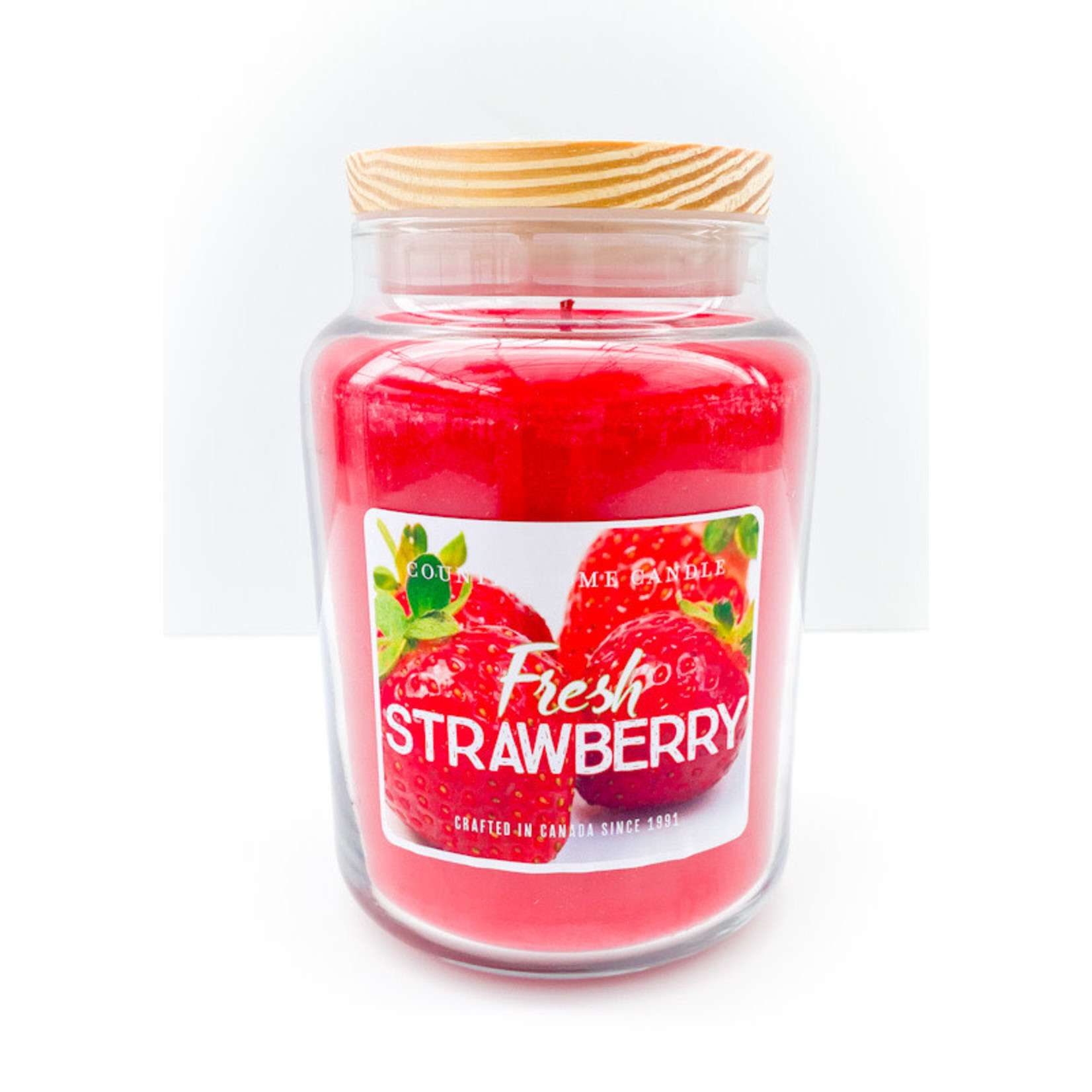 Candle - Fresh Strawberry LRG