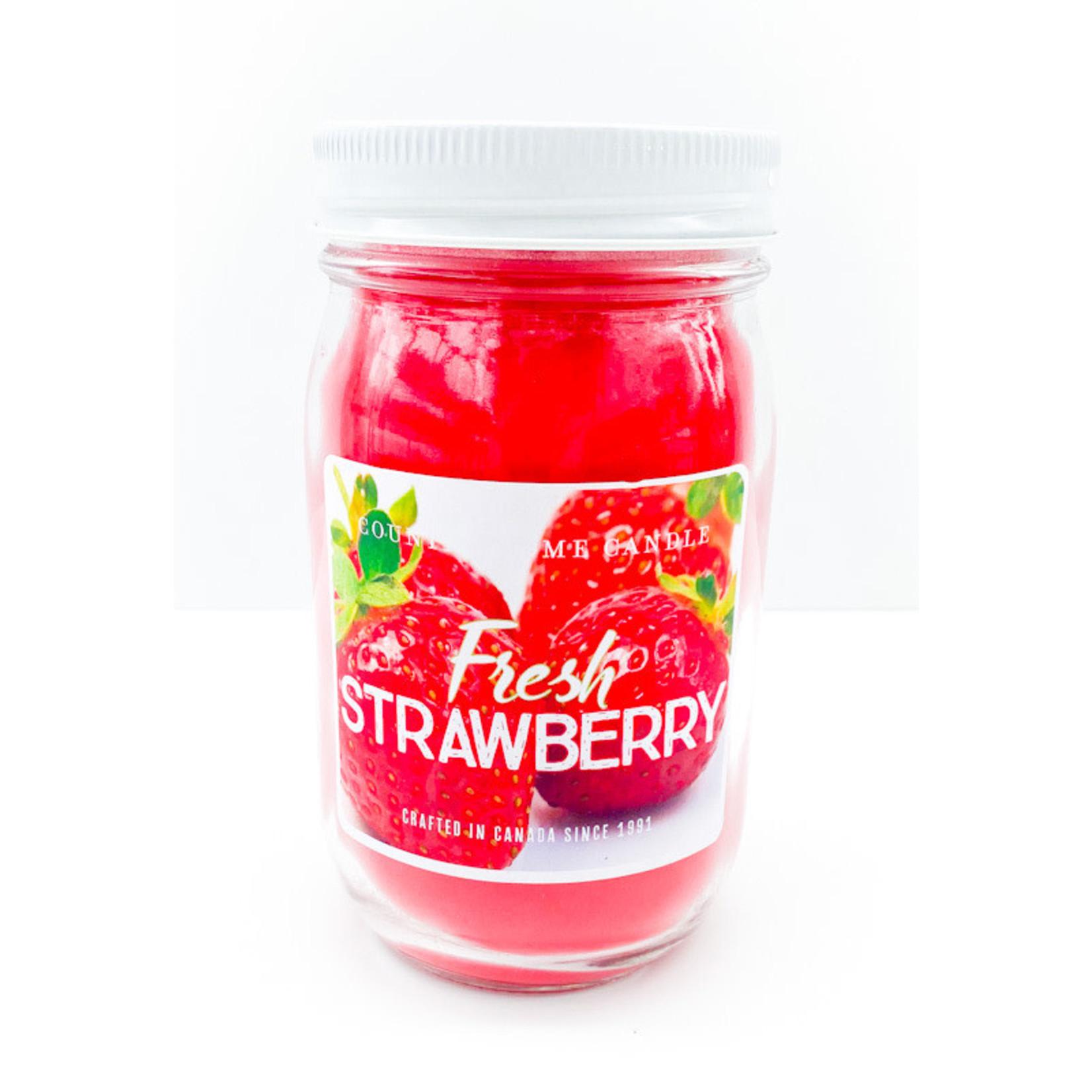 Candle - Fresh Strawberry 10oz