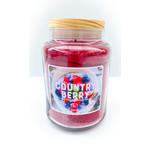 Candle - Country Berry LRG