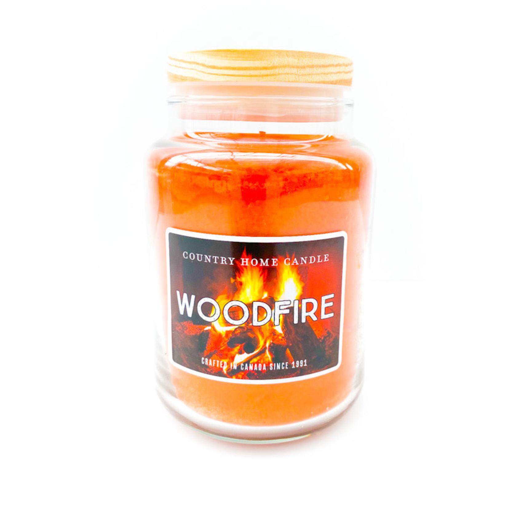Candle - Woodfire LRG
