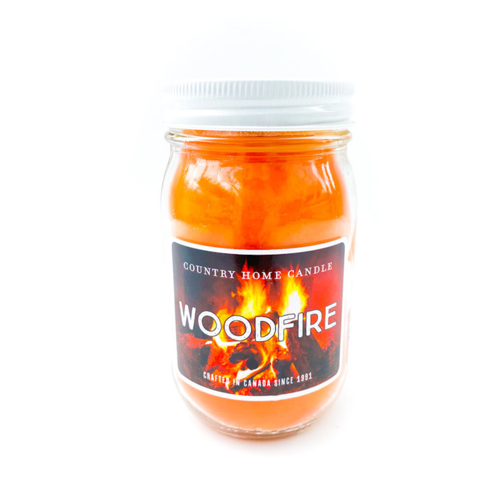 Candle - Woodfire 10oz