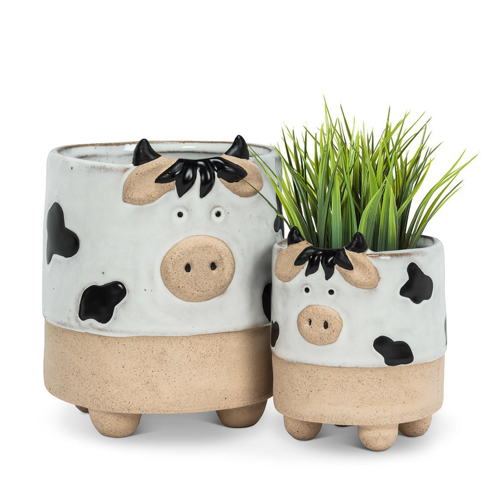 Planter - Cow on Legs LG