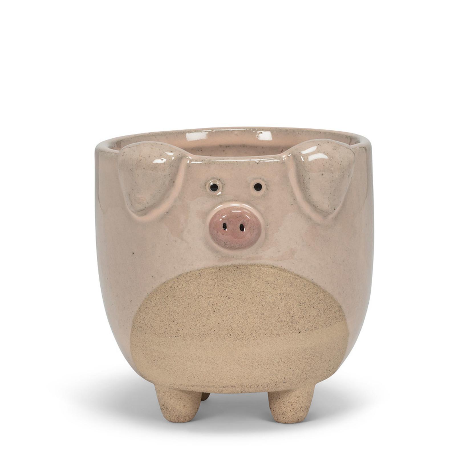 Planter - Pig on Legs LG