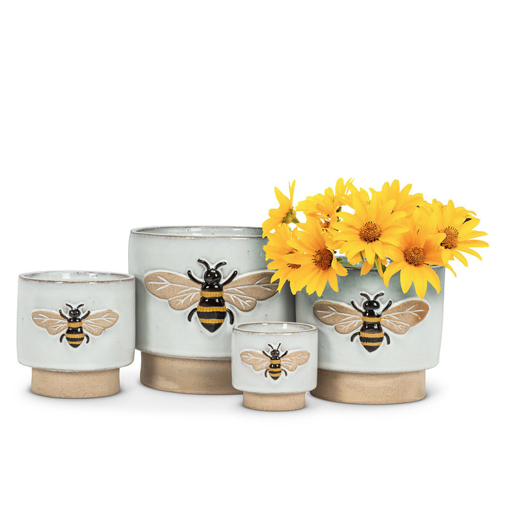 Embossed Bee Planter MD
