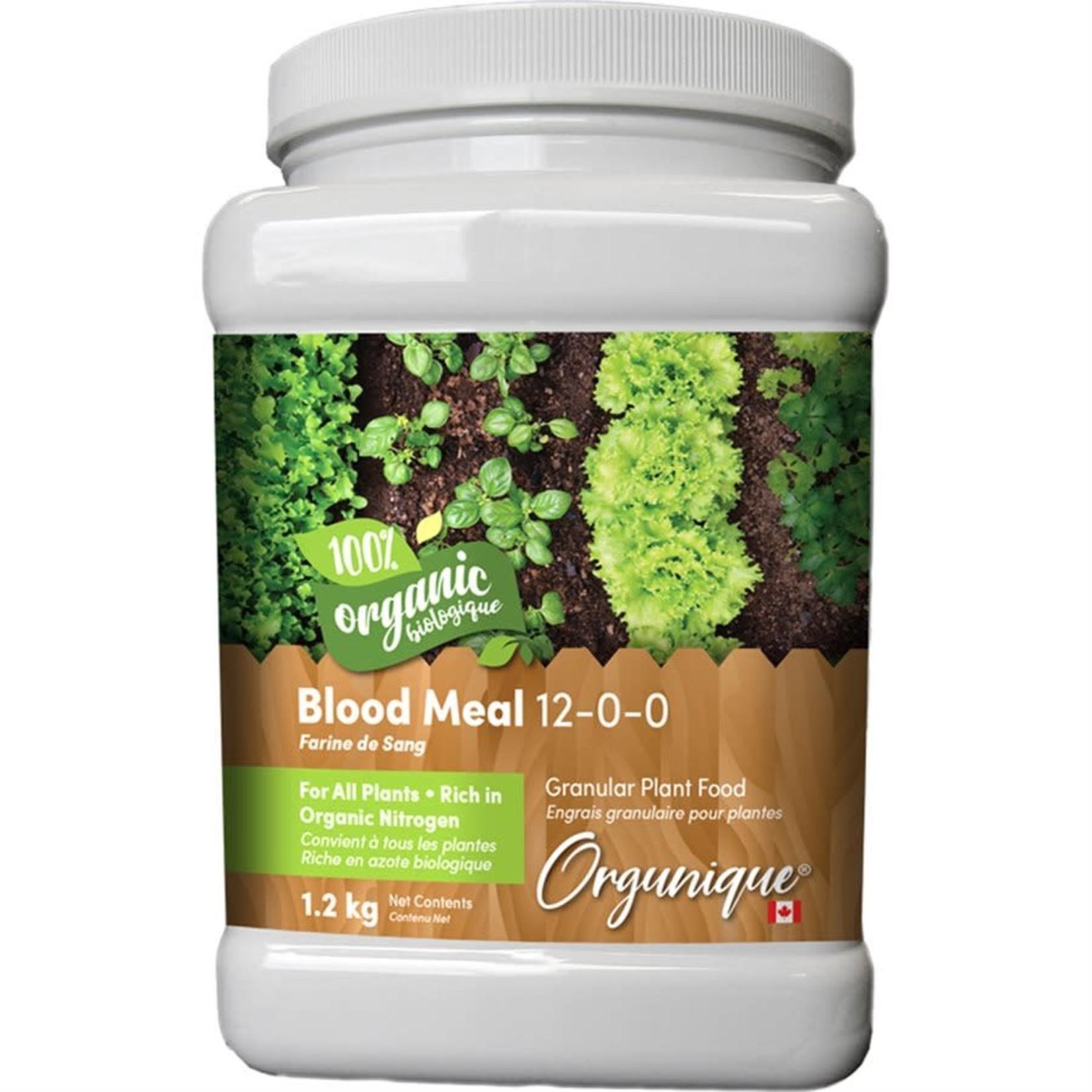 Orgunique Blood Meal 12-0-0 1.2Kg