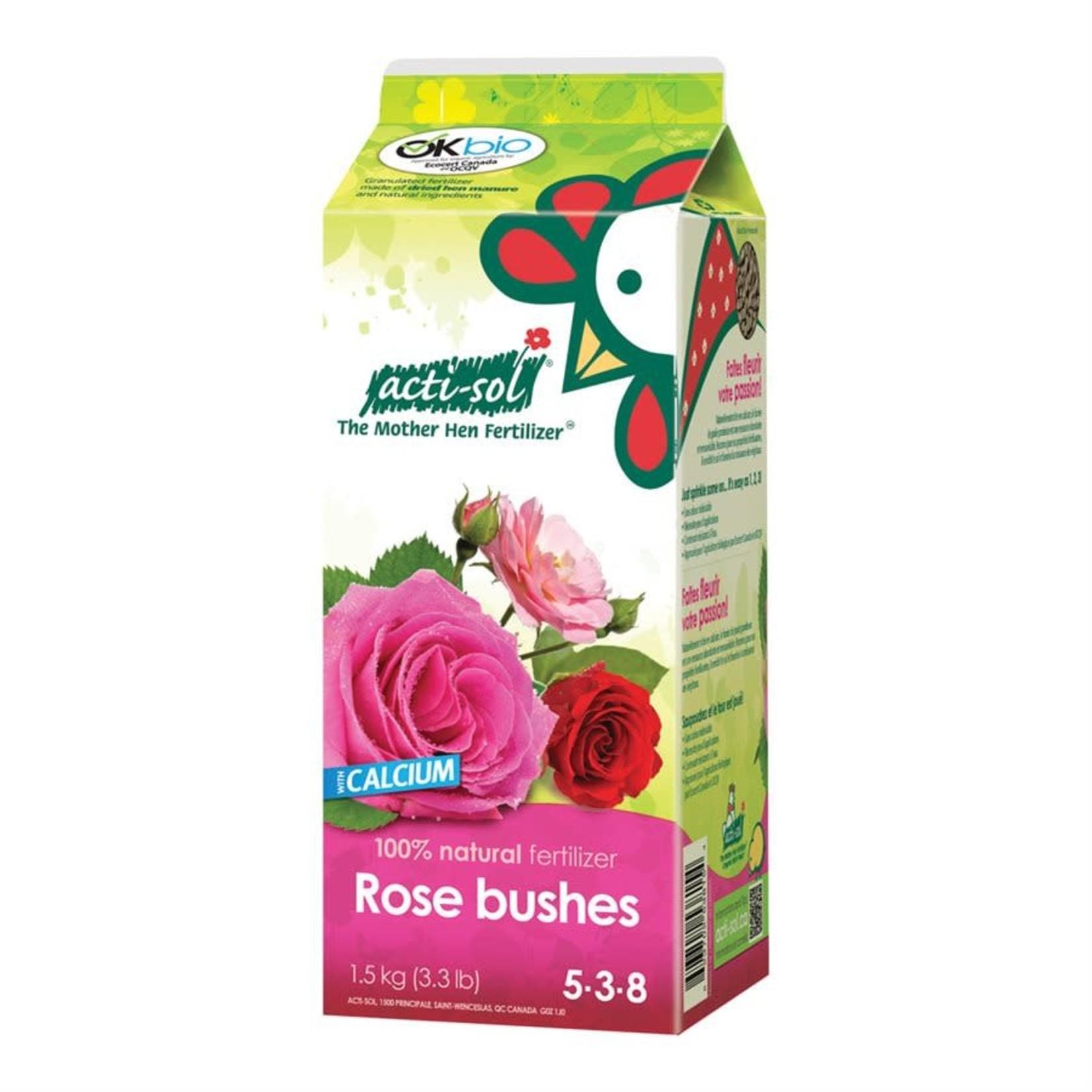 Acti-Sol Rose Bushes 5-3-8 1.5kg