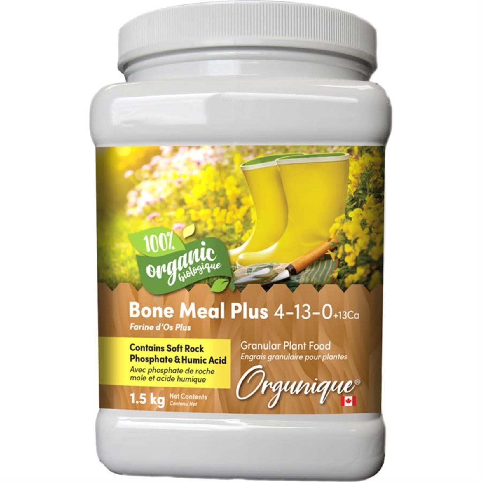Orgunique Bone Meal Plus 3-15-0+18Ca 1.5kg