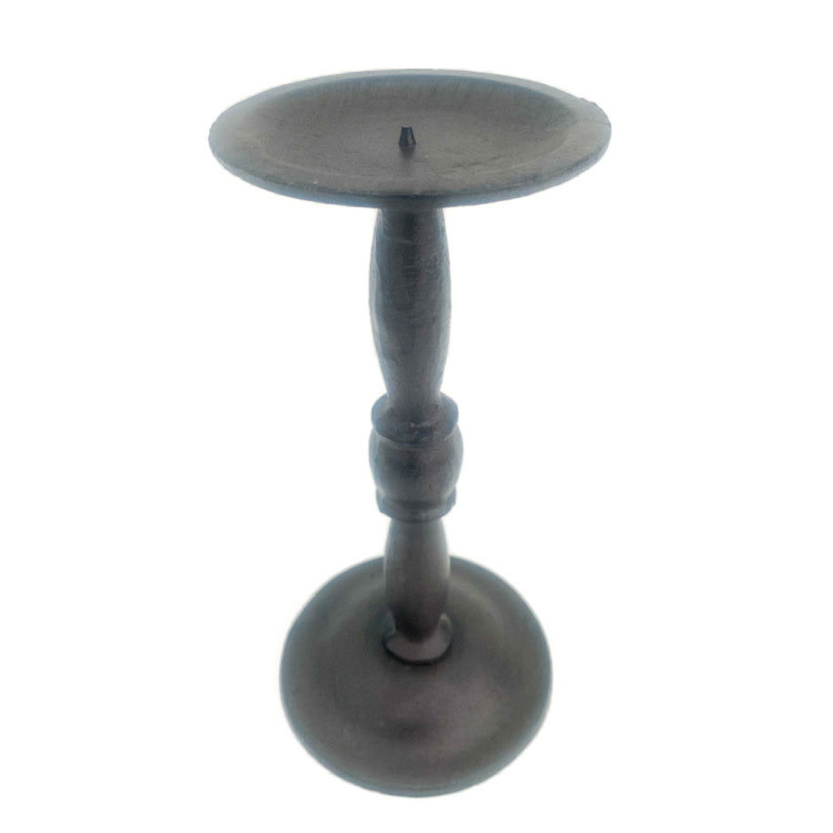 Cast Iron - candle holder tall