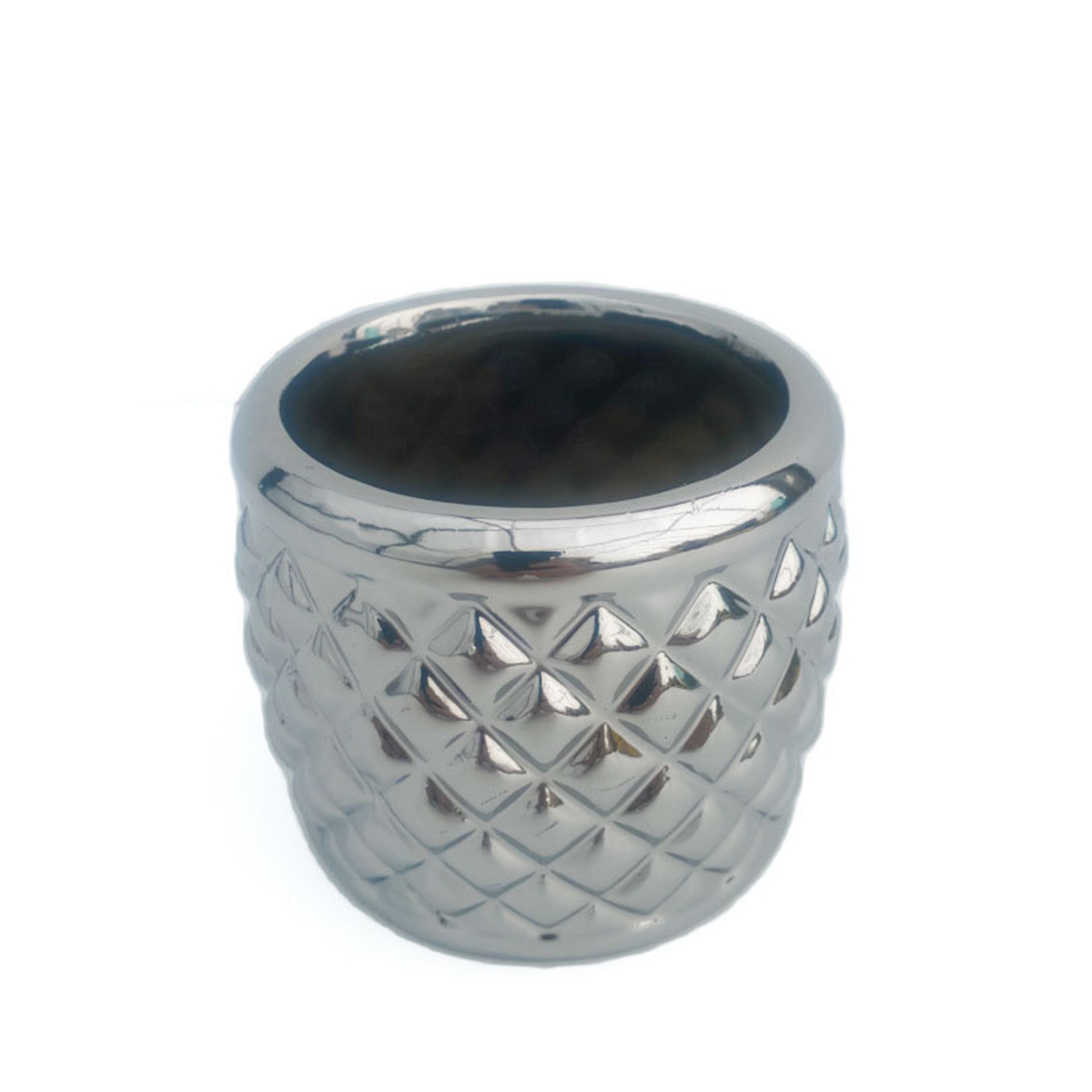 Flower Pot - silver