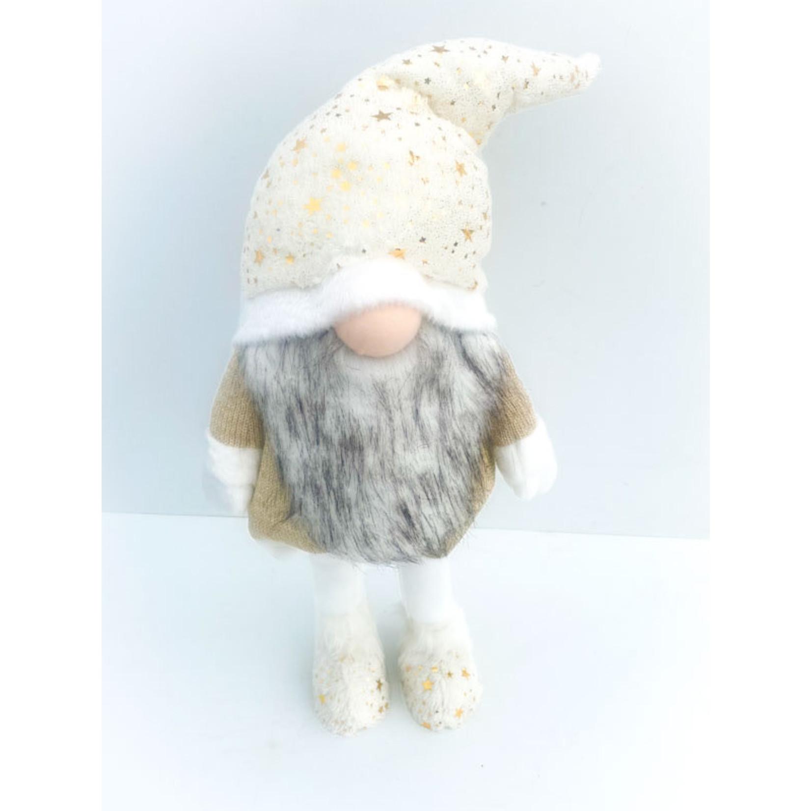 Gnome Santa - white