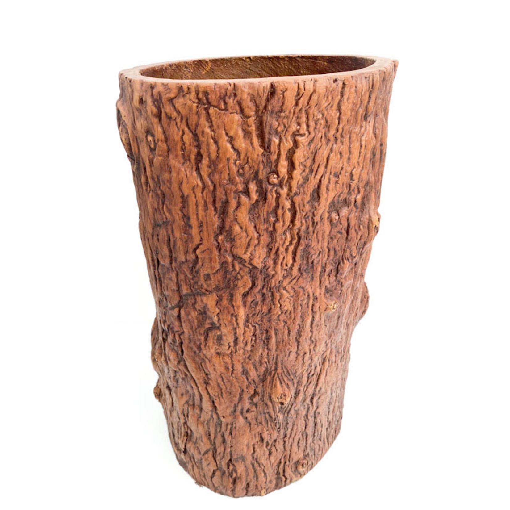 Planter - Log Resin