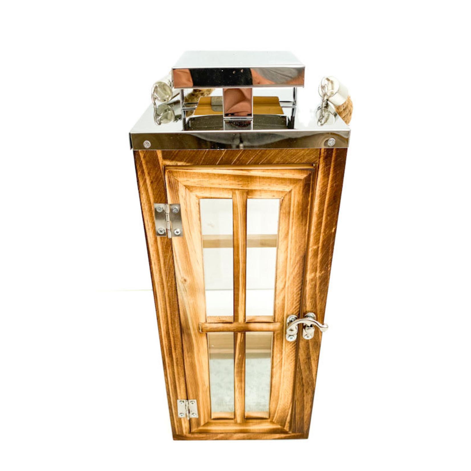 Lantern - silver top