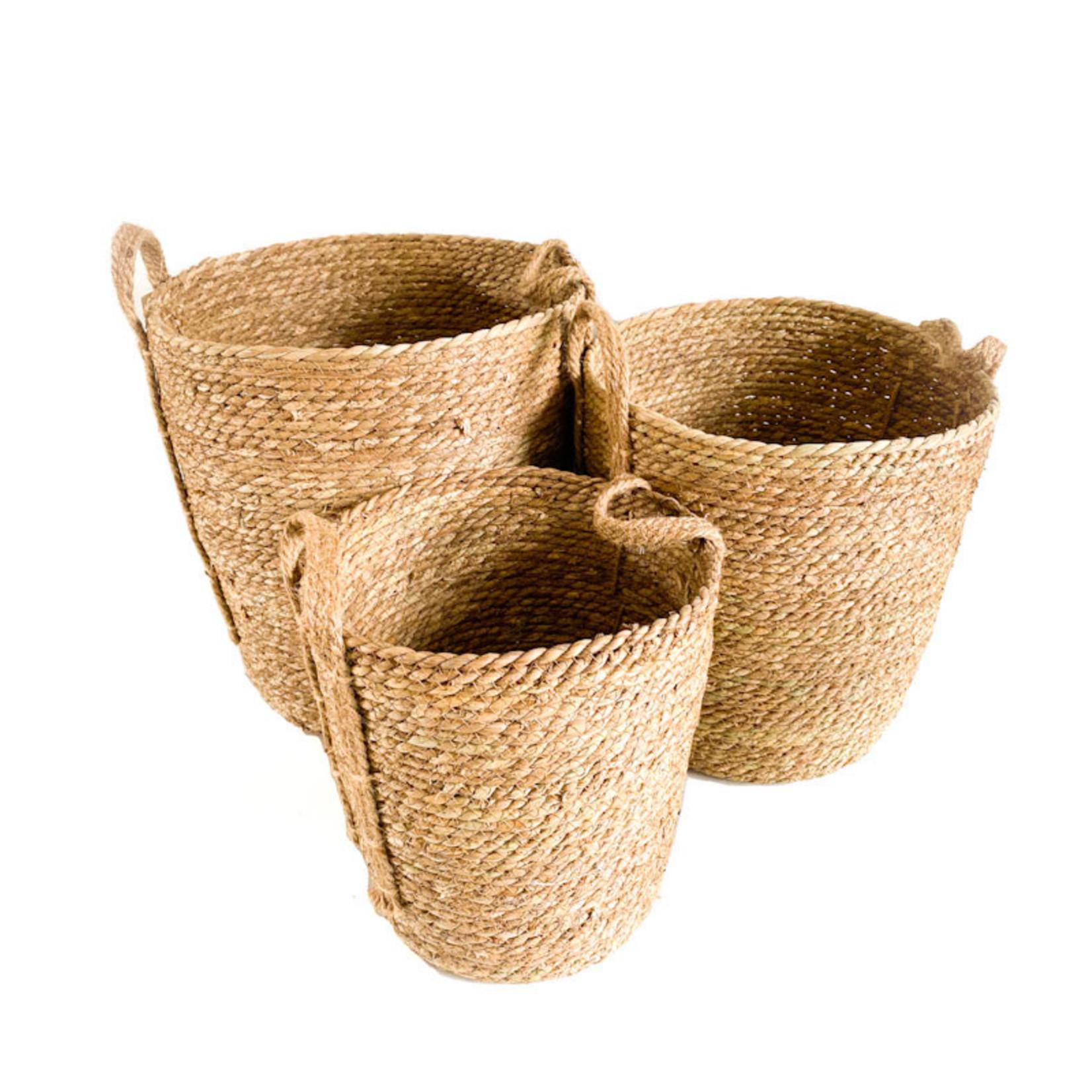 Jute Basket - green