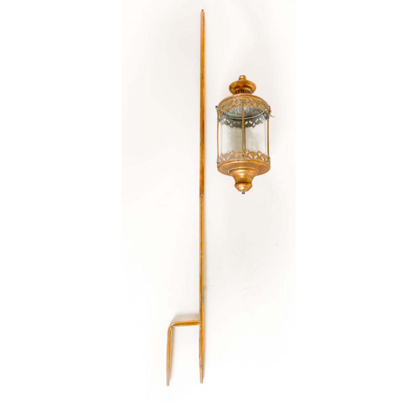 Gold Lantern with Stake