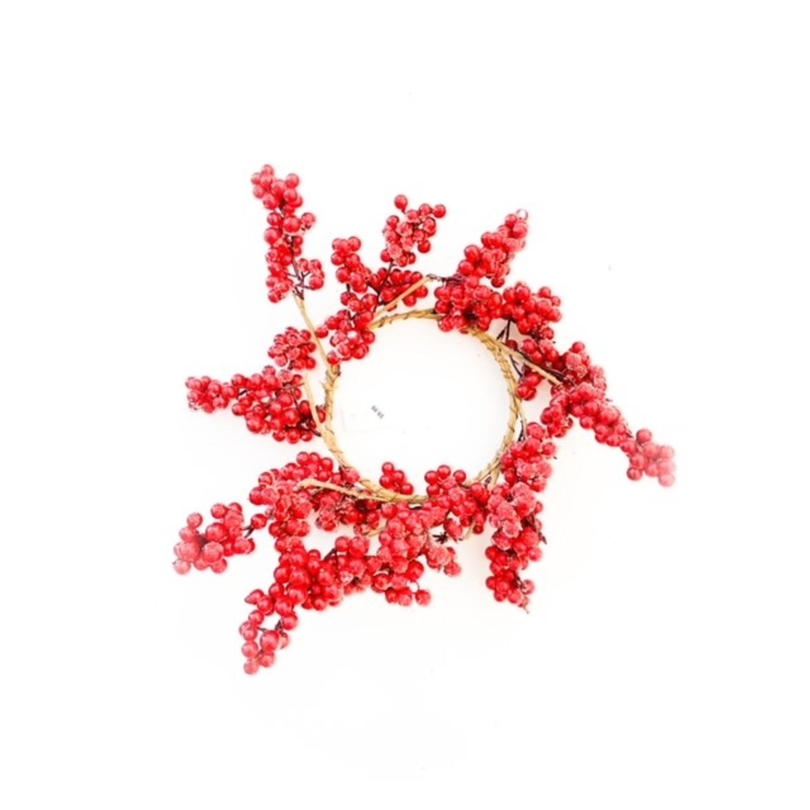 Red Berry Wreath Medium