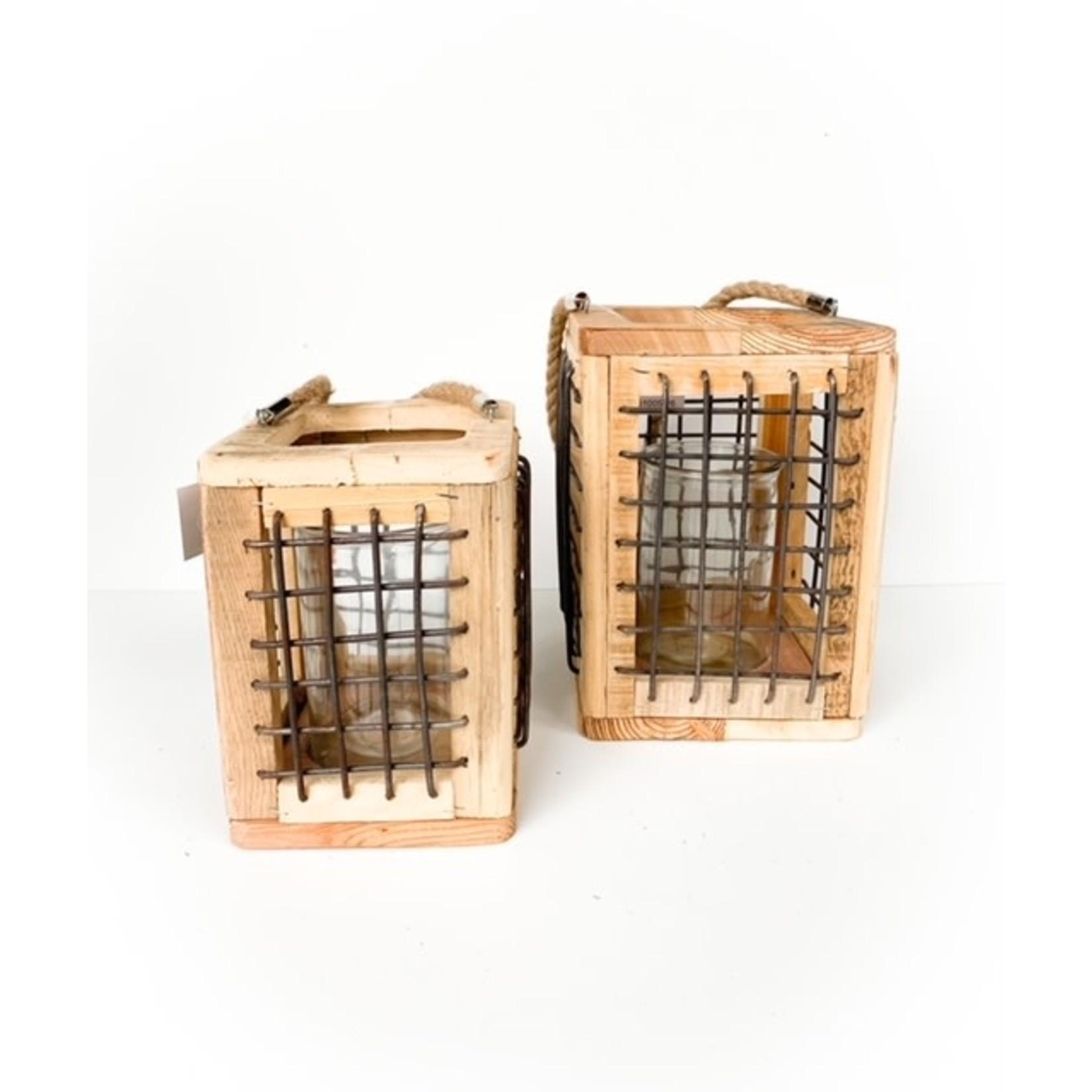 Wood/Wire Lantern