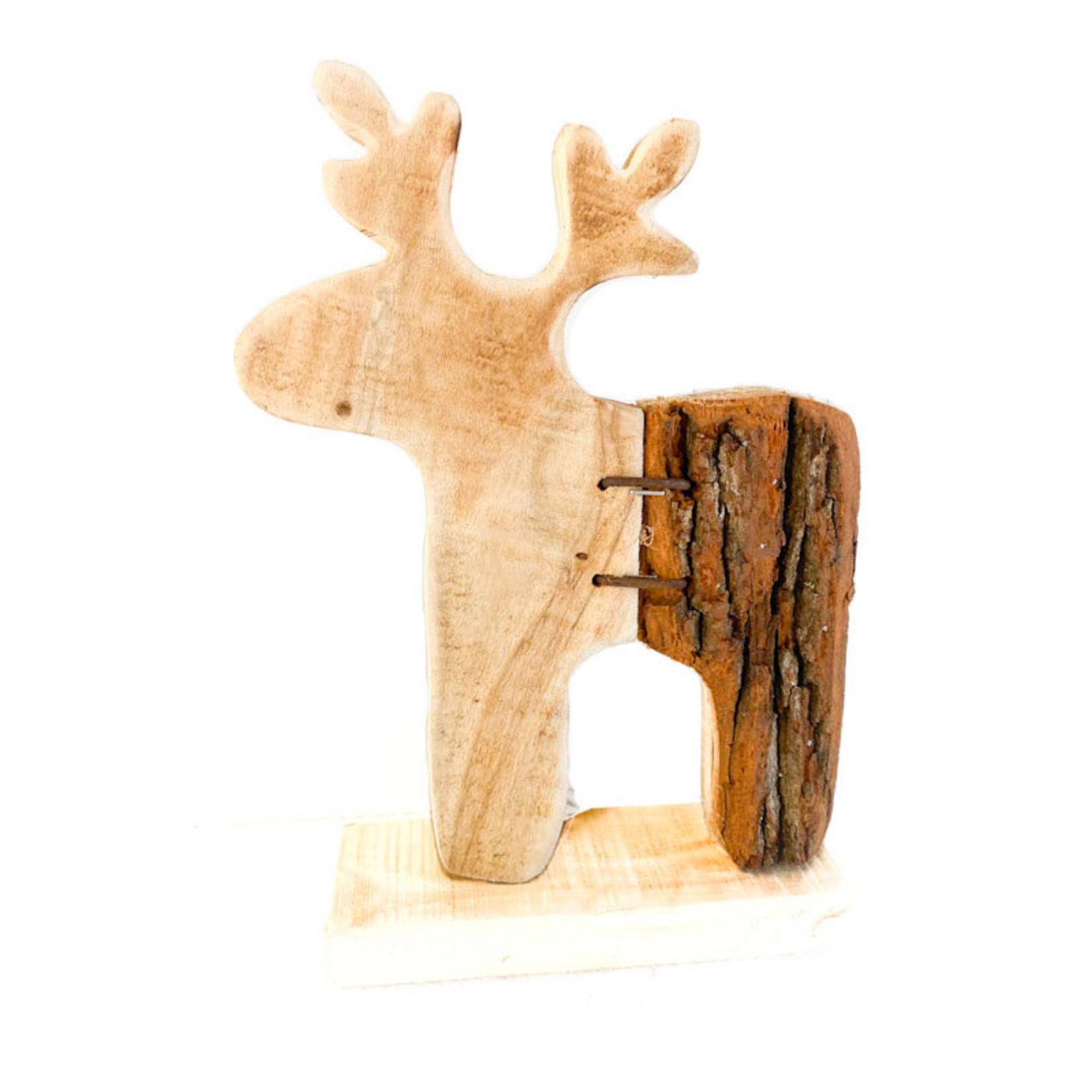 Wood/Bark Moose