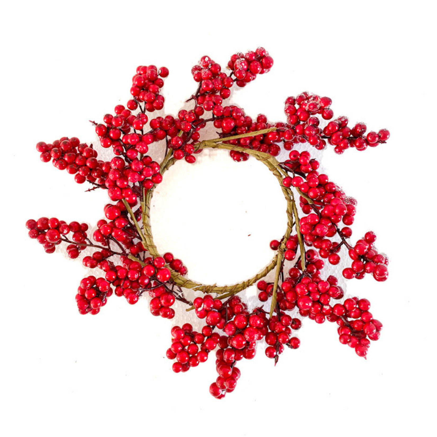 Candle Wreath - Red Berry
