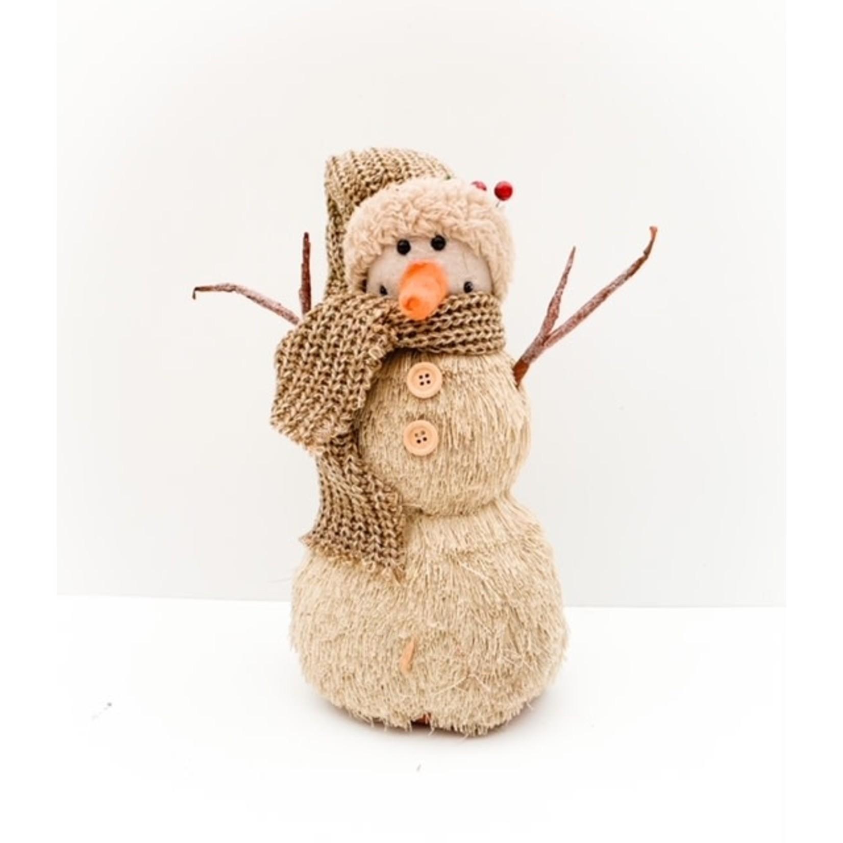 Snowman - Cream/White