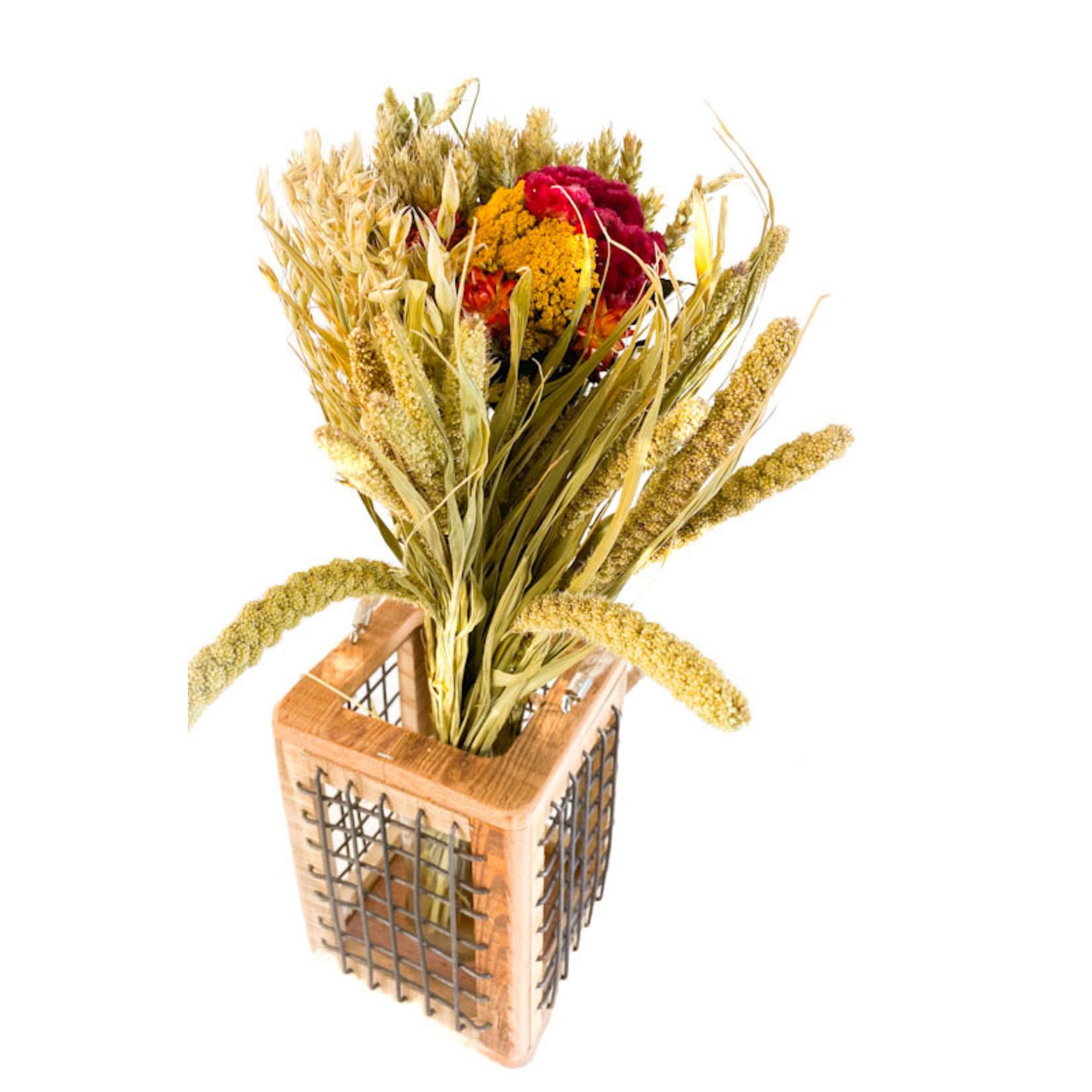 Autumn Round Bouquet - Field Flowers