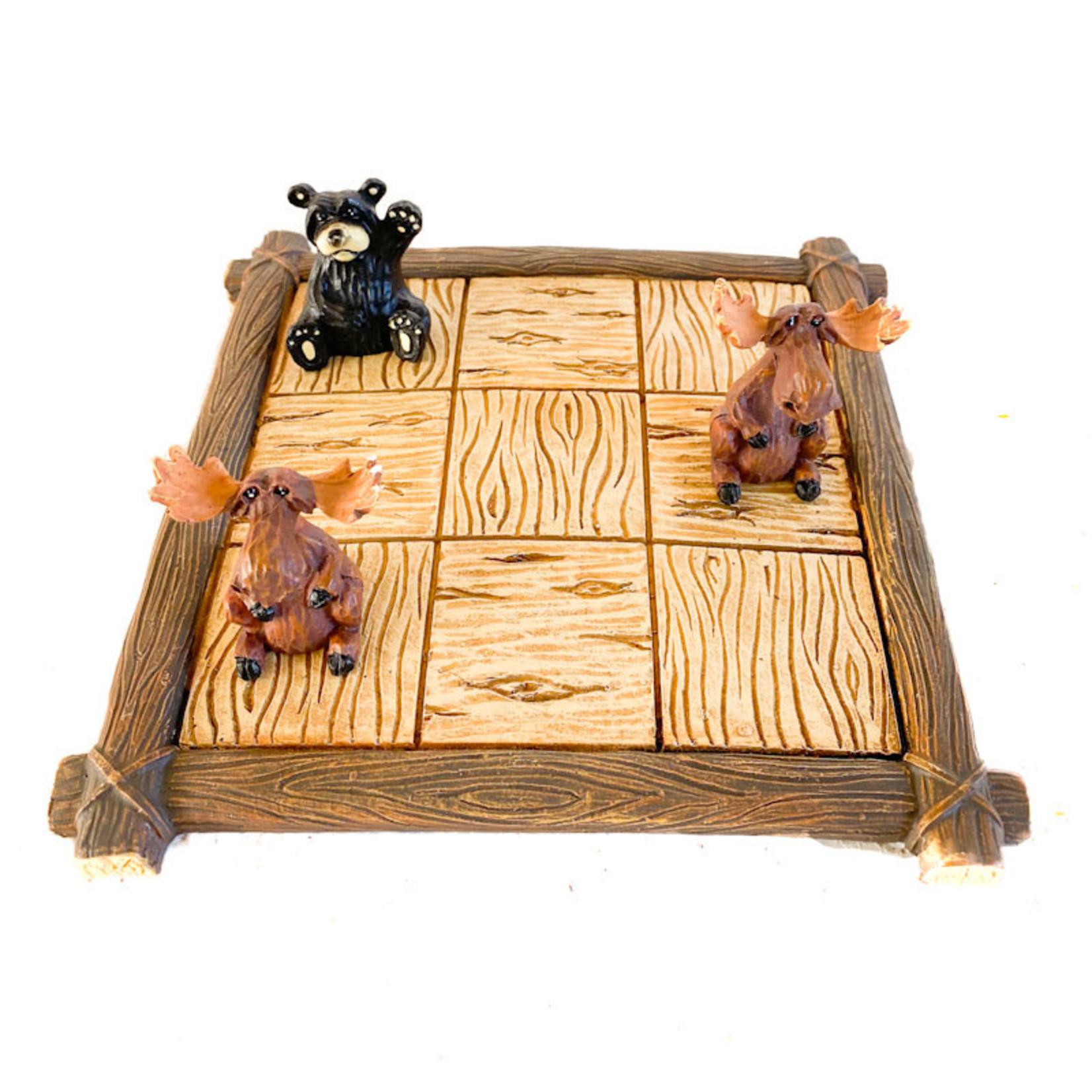 "Bear & Moose - ""Tic Tac Toe"" set"