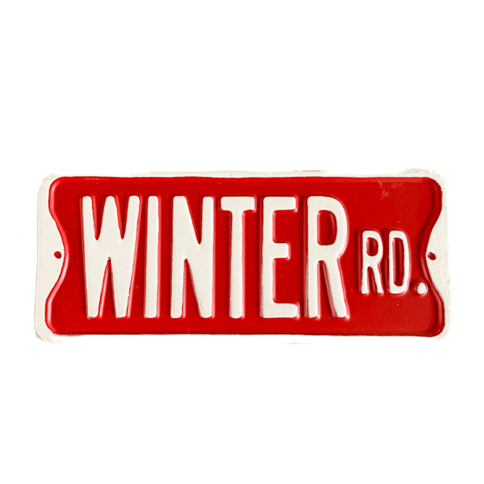 Sign - Winter Rd