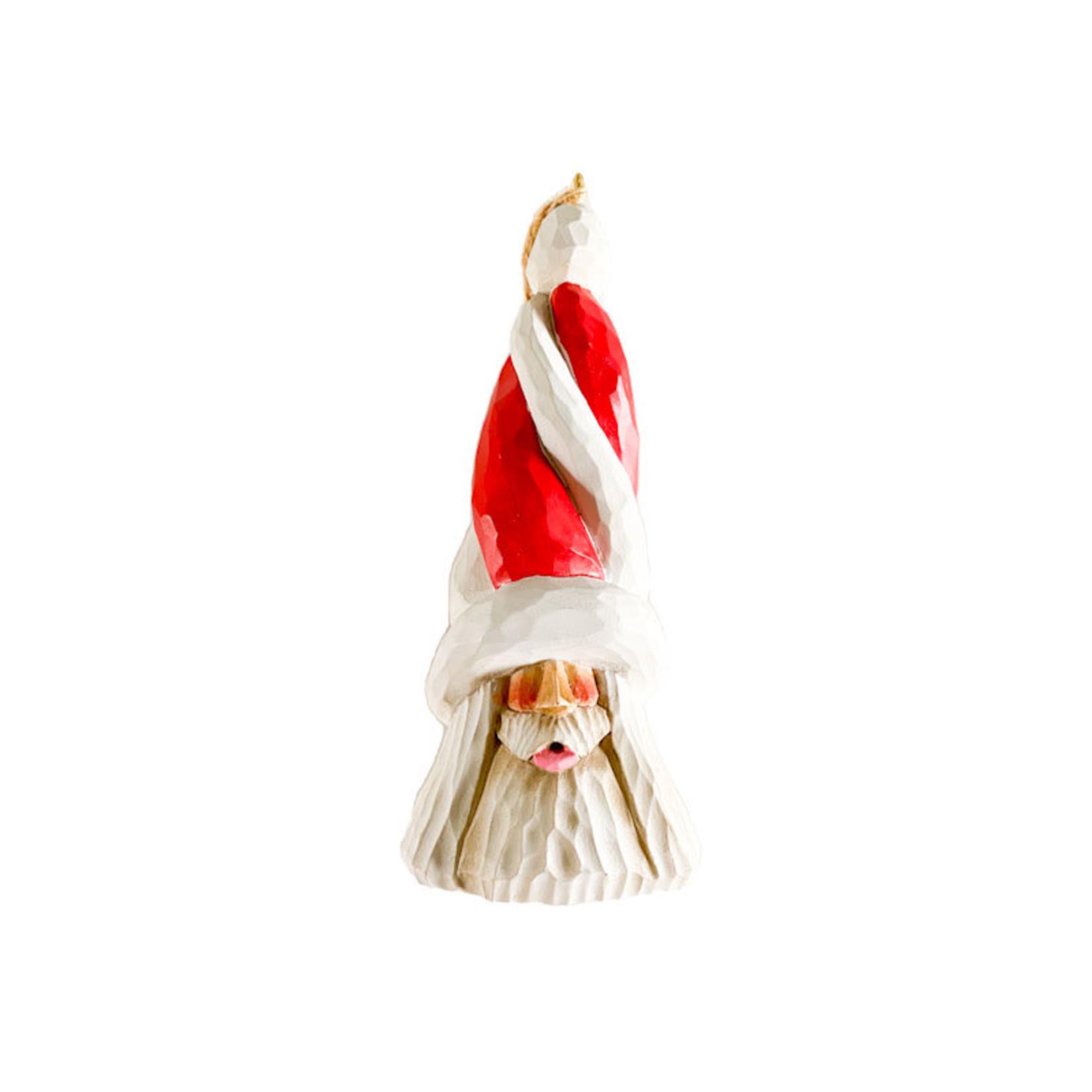 Santa - hand carved - small