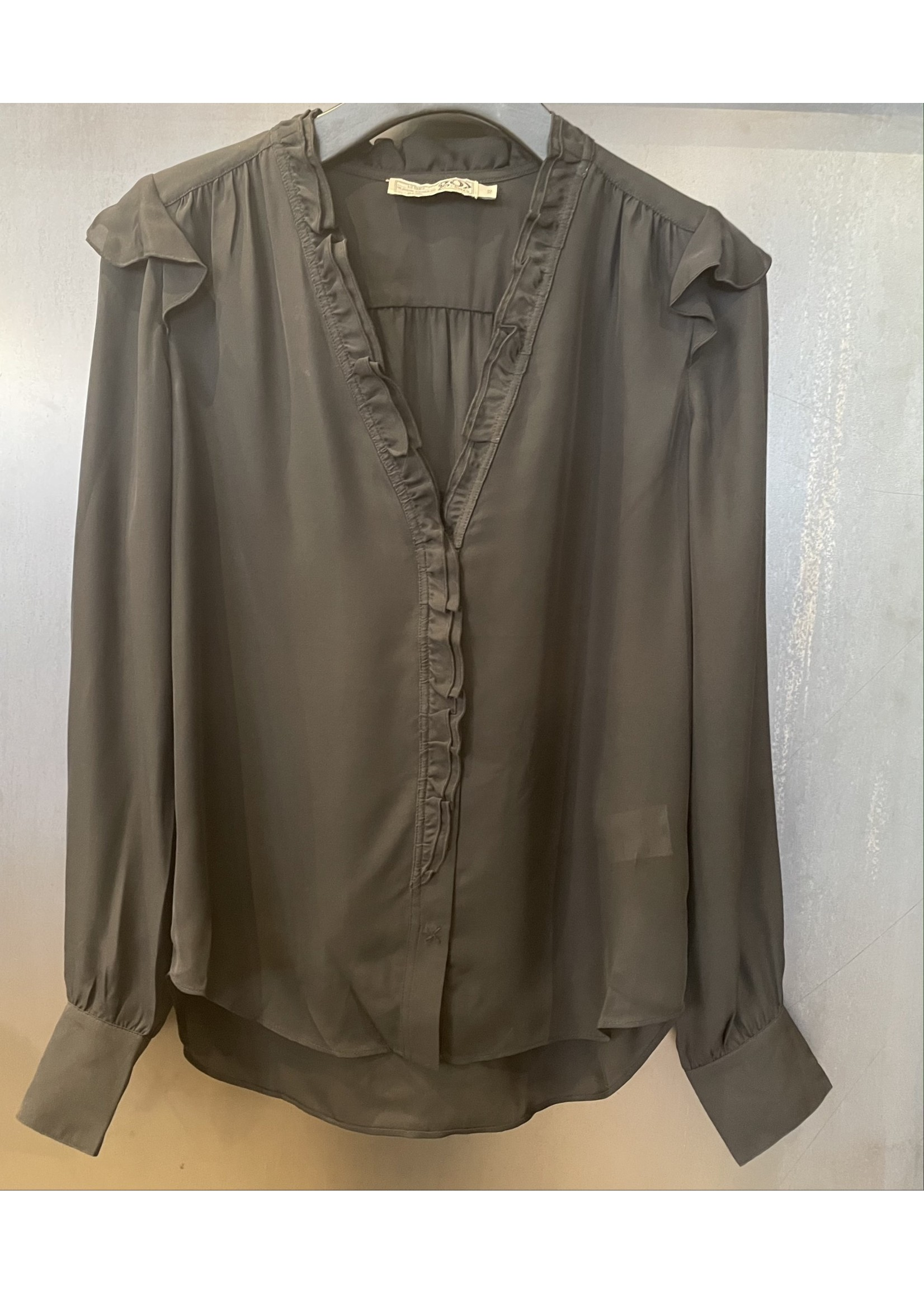 Go Silk Go Silk Frankly Femme Solid Blouse