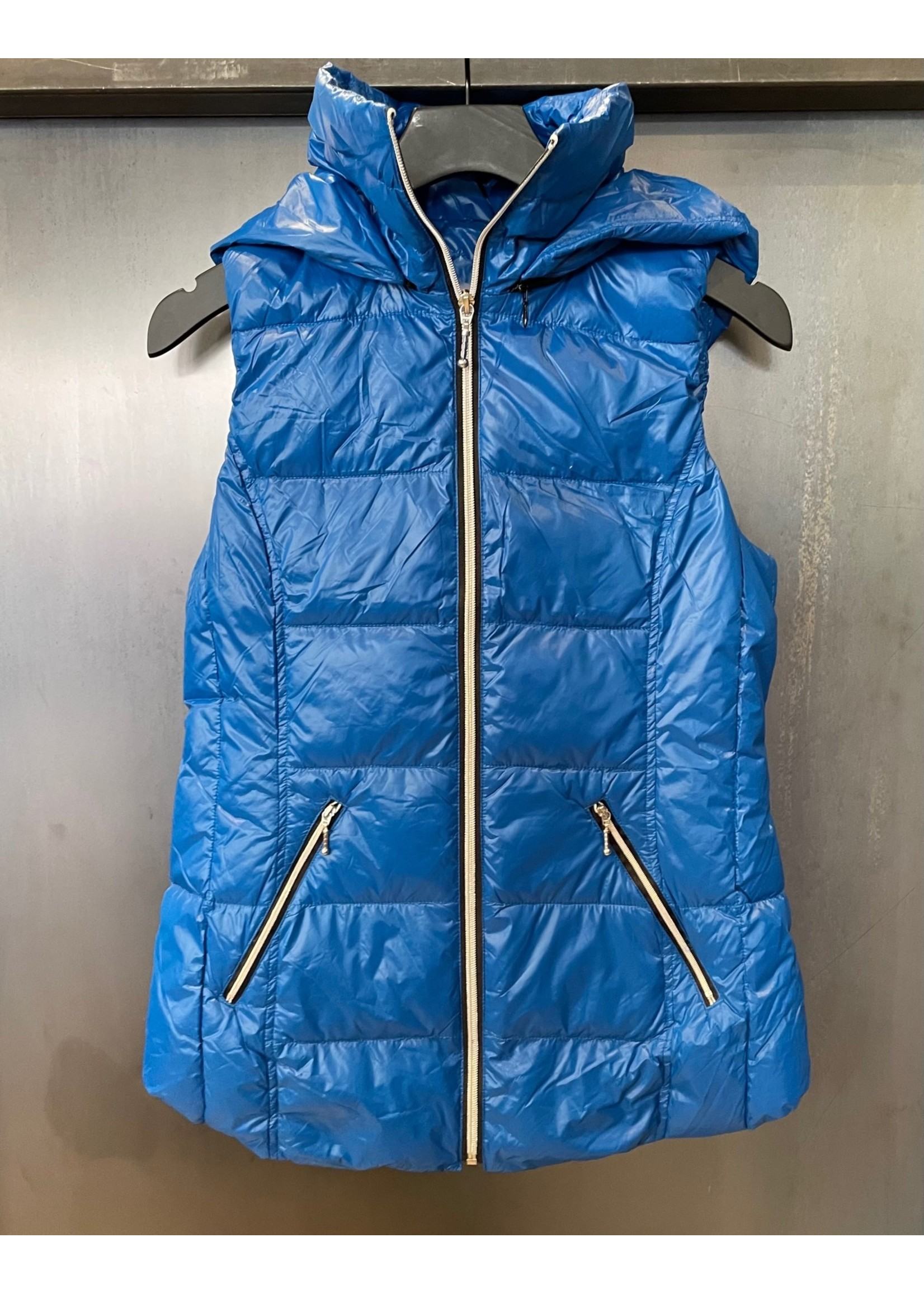 Anorak Anorak Hooded Quilted Vest