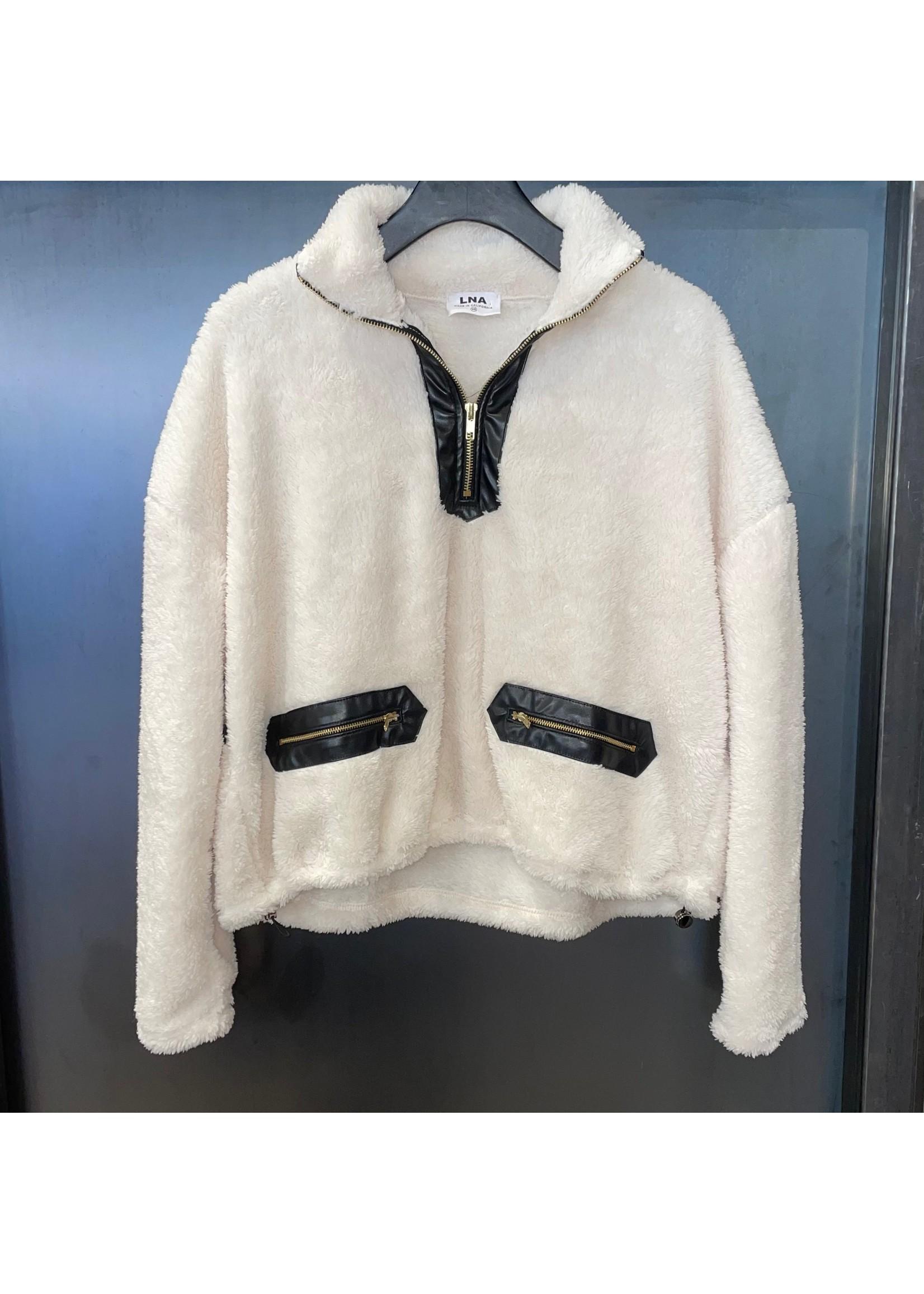 LNA LNA Contrast Sherpa Jacket