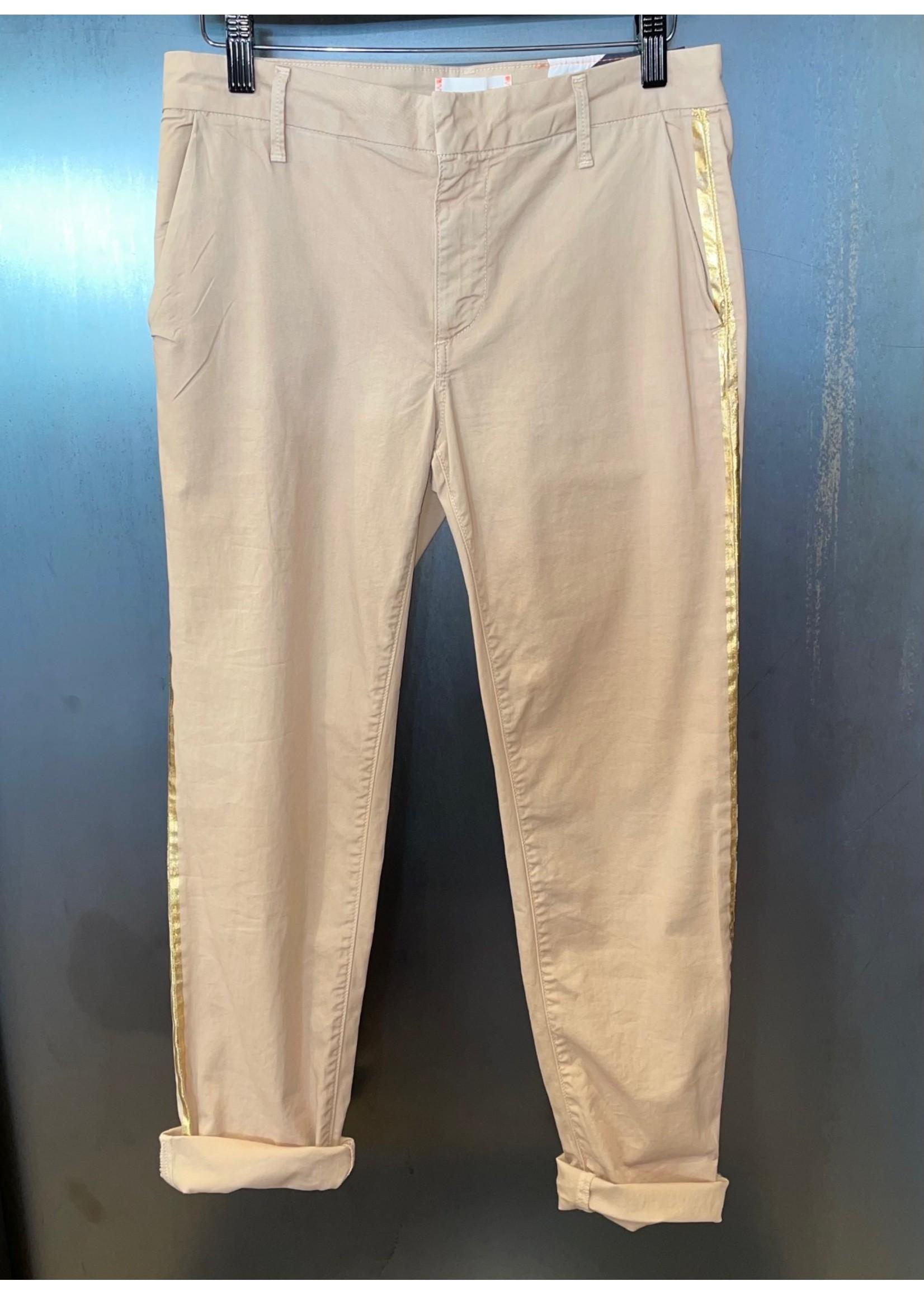Sundry Sundry Rollup Trouser W/Side Stripe
