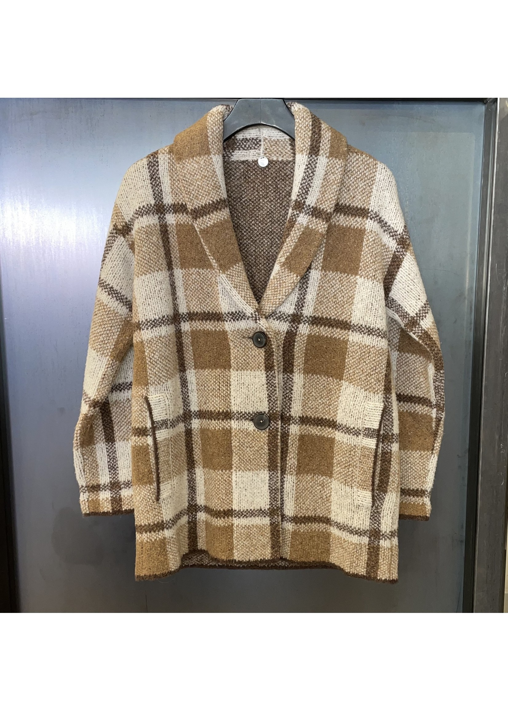 Margaret O'Leary Margaret O'Leary Plaid Coat