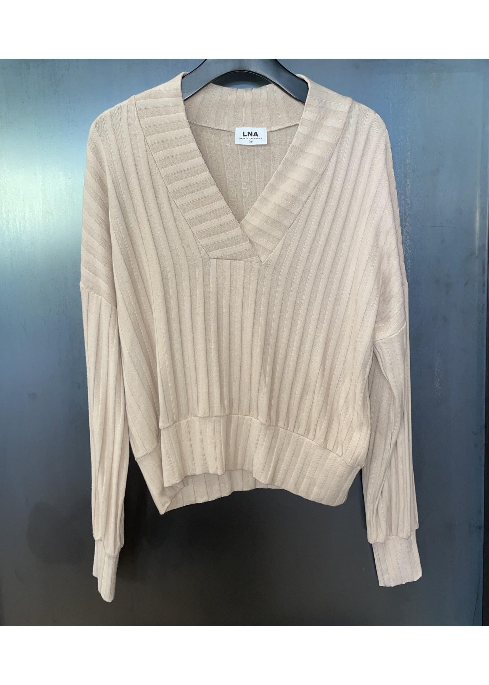 LNA Clothing LNA Gabrielle L/S Top