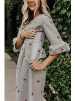 Roolee Roolee, Marietta Stripe MOM Shift Dress