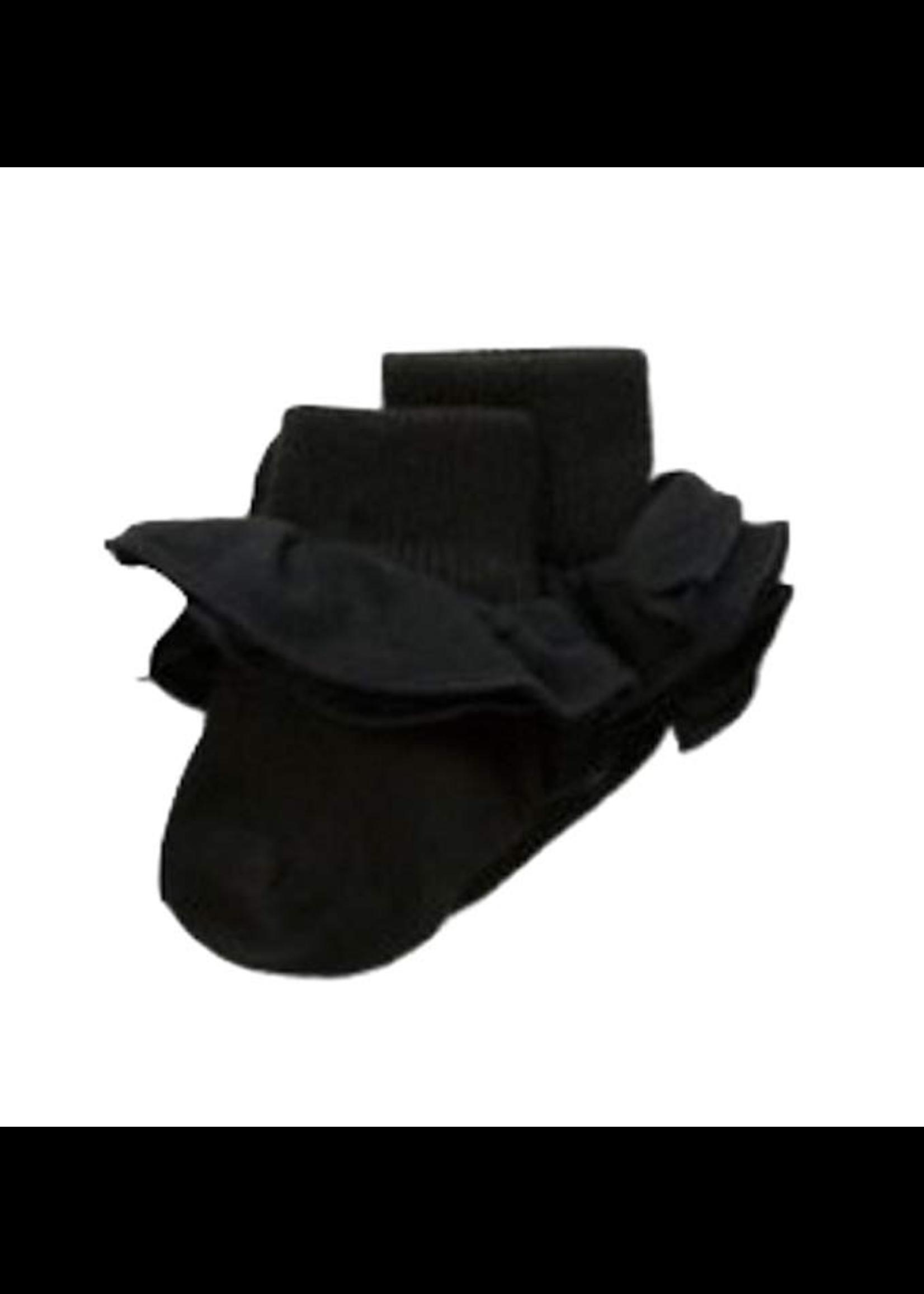 Jefferies Socks Jefferies Socks, Misty Ruffle Turn Cuff