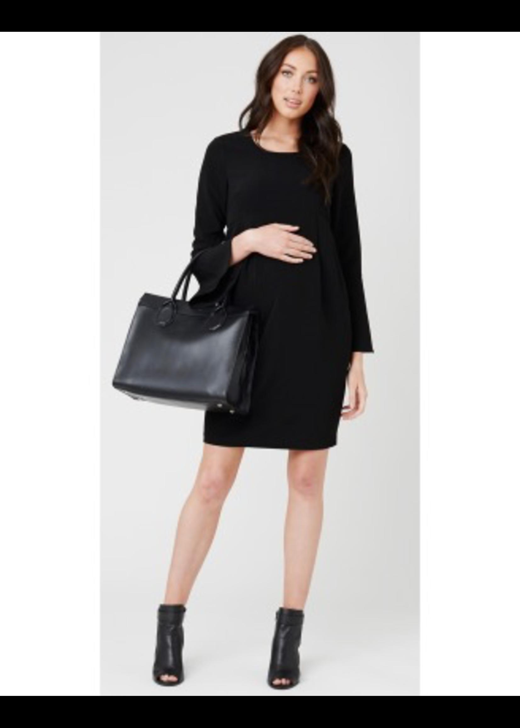 Ripe Maternity Ripe Maternity, Bell Sleeve Tulip Maternity Dress