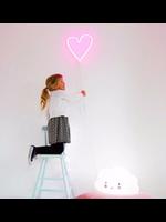 A Little Lovely Co. A Little Lovely, Pink Heart Neon Light.
