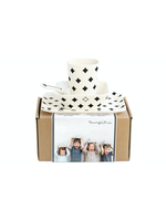 Young Lux Young Lux, Bamboo Tableware Gift Set with Plate, Bowl, Cup & Spoon.