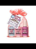 Piggy Paint Piggy Paint Cotton Candy, Nail Polish Gift Set, 3 Pack